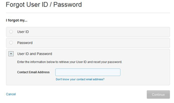 att net email login password username recover