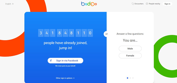 badoo free account