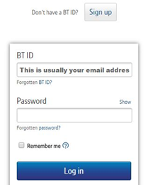 Home Bt Com Login