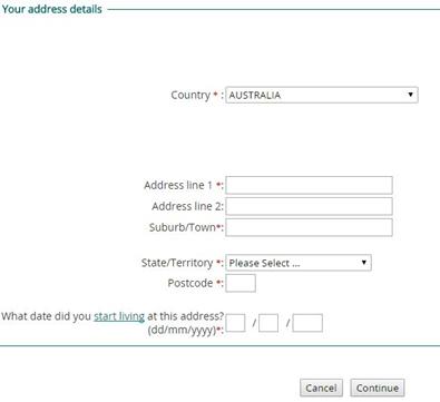 centrelink login sign up