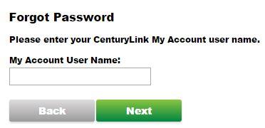 centurylink email login password recover
