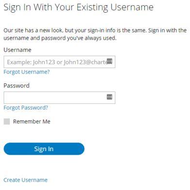 charter email login username
