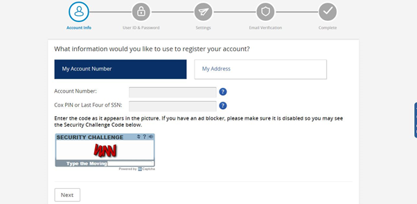 cox email login username password