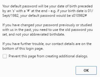 cqu login password