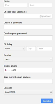 gmail signup create gmail account