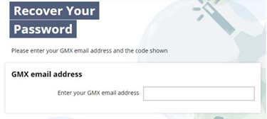 gmx mail login password reset