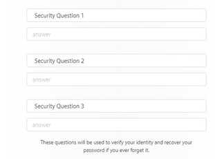 how to create apple id security question