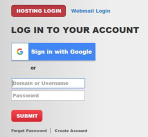 justhost hosting login