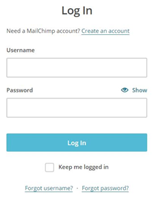 mailchimp account login how to mailchimp login