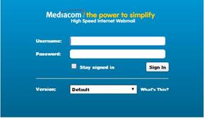 mediacom email login