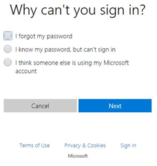office 365 login why cant you sign in