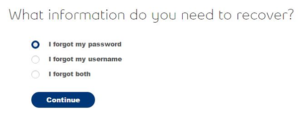 recover bell mail password username