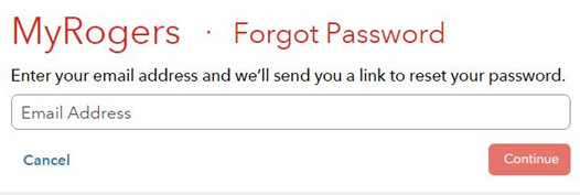 rogers email login password