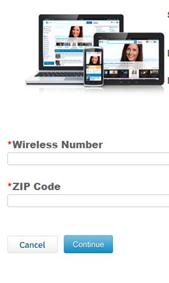 sbcglobal wireless number zip code