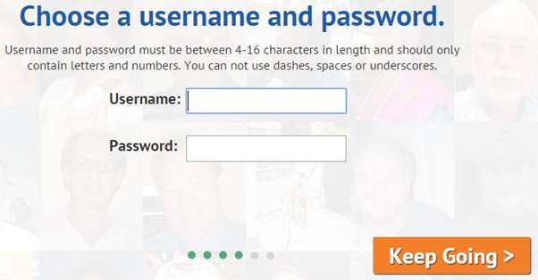 senior people meet username password
