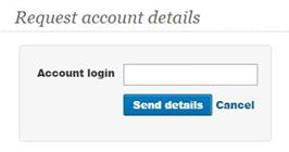 smh password recover