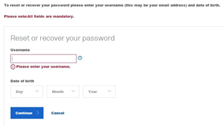 telstra email password recover
