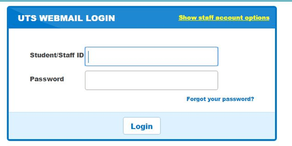 uts webmail login