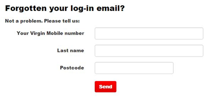 virgin media email login problem