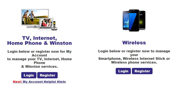 eastlink login register