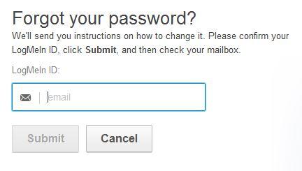 logmein login password