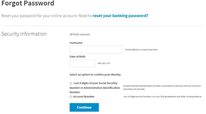 sallie mae forgot password
