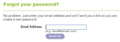 shutterfly login problem forgot password