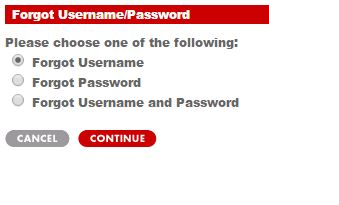 target red card username password