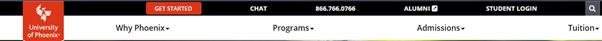 university of phoenix login homepage