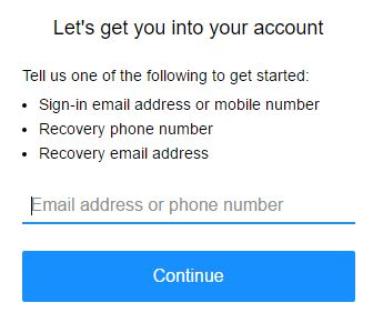 yahoo mail recovery