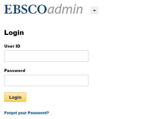 ebsco admin account login