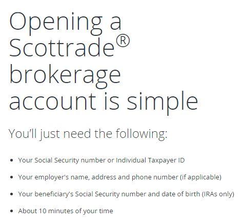 Scottrade options first login