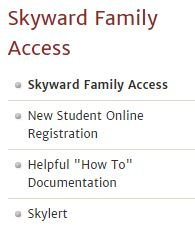 Skyward family access