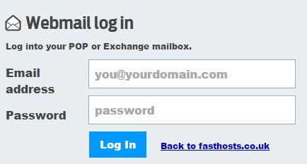 fasthost webmail login