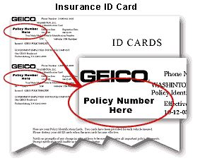 Geico Renters insurance Login policy number