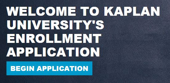Kaplan University Login application