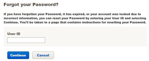 Merrill lynch Login forgot password