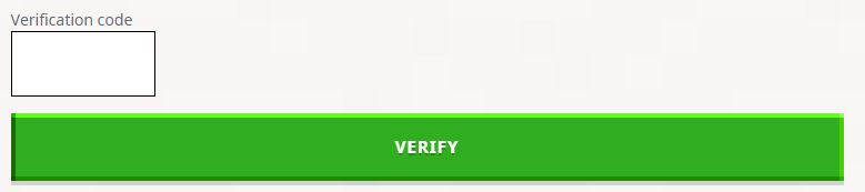 verify mojang account