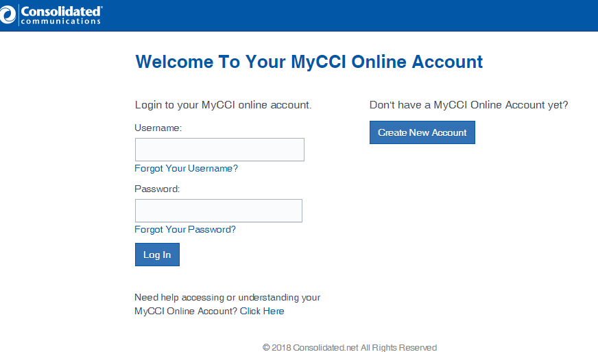 consolidated mycci online account