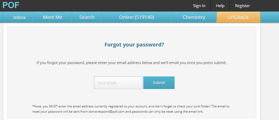 POF Mail Login – How to login Plenty of Fish for free?