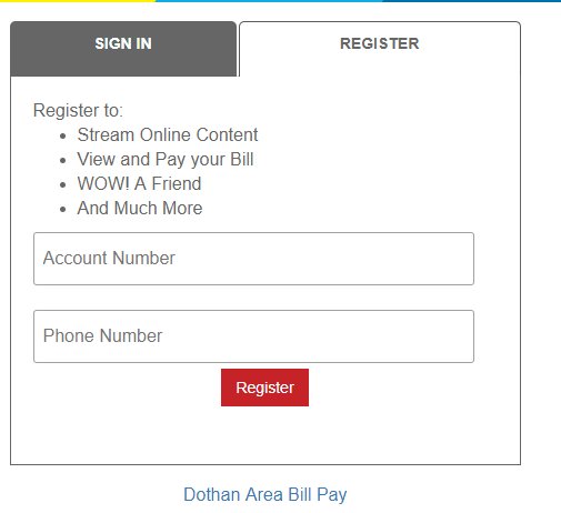 wowway account sign up